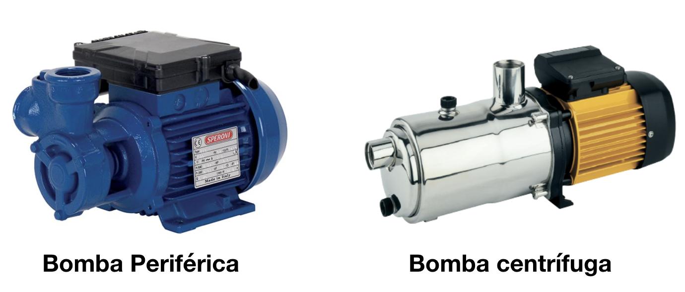 Bomba centrifuga vs bomba periférica