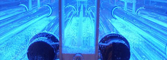 Uso de lámparas de luz Ultravioleta (UV) para tratamiento de agua